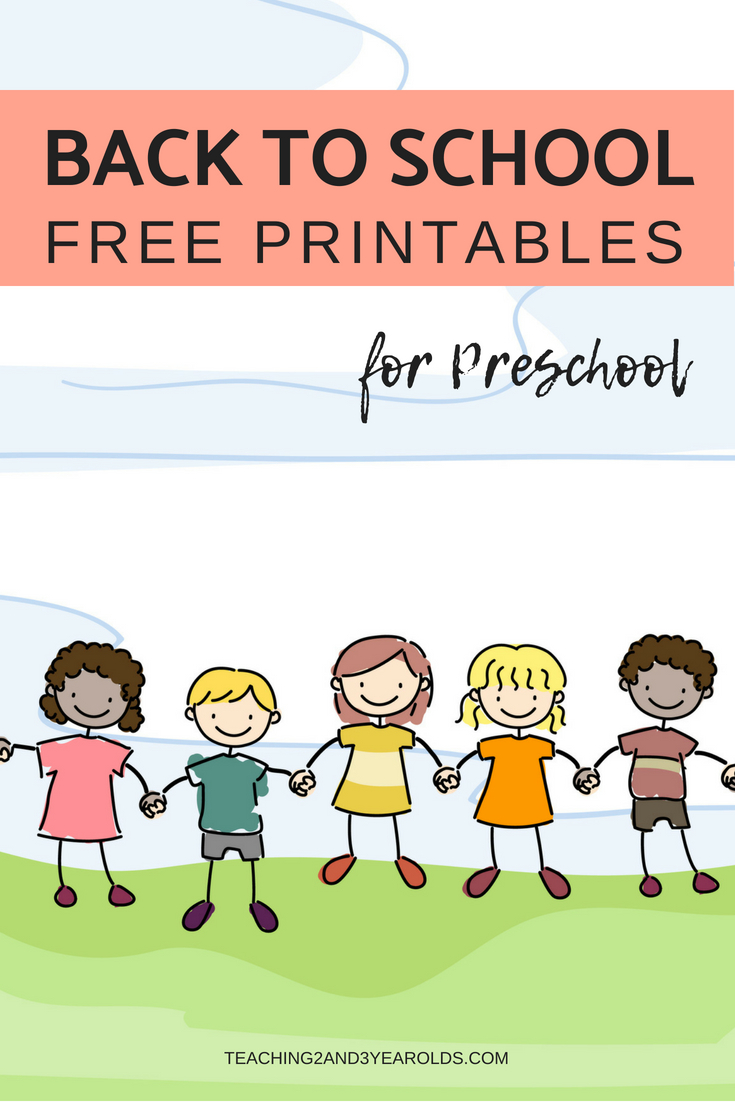 Free Back To School Printables For Preschoolers | Shapes | Preschool - Free Printable Preschool Teacher Resources