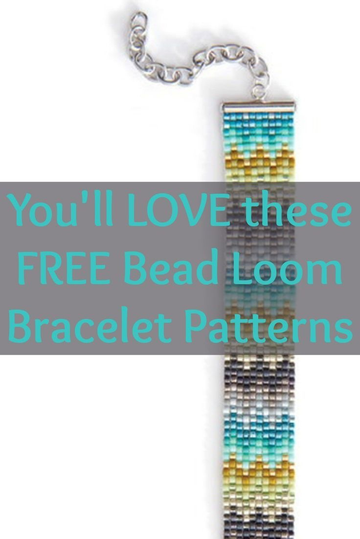 Free Beading Patterns You Have To Try | Zentangle | Loom Bracelet - Free Printable Loom Bracelet Patterns
