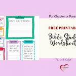 Free Bible Journal Key Worksheet – Bible Journal Love   Free Printable Bible Lessons For Women