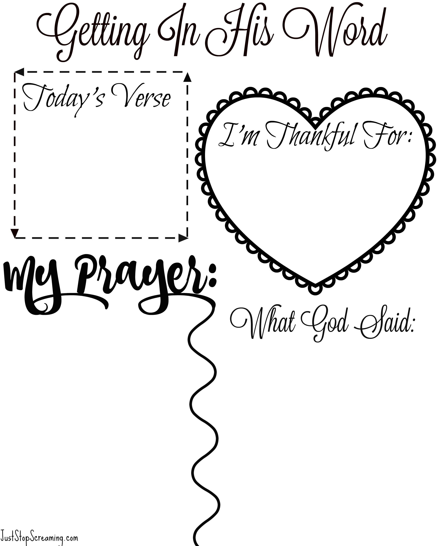 Free Bible Study Printable For Adults And Kids - Free Printable Bible Study Lessons For Adults