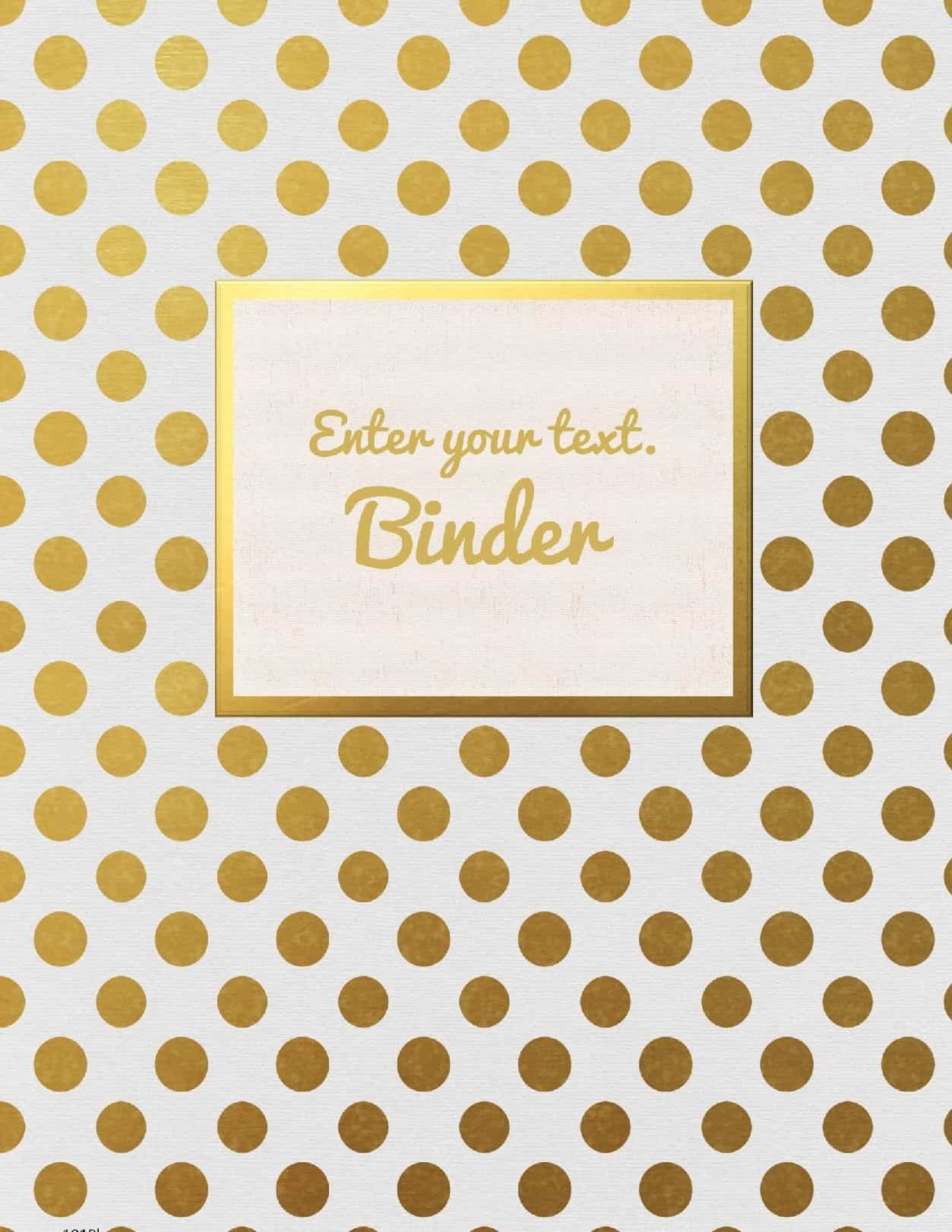 Free Binder Cover Templates   Customize Online & Print At Home   Free! - Free Printable Binder Covers And Spines