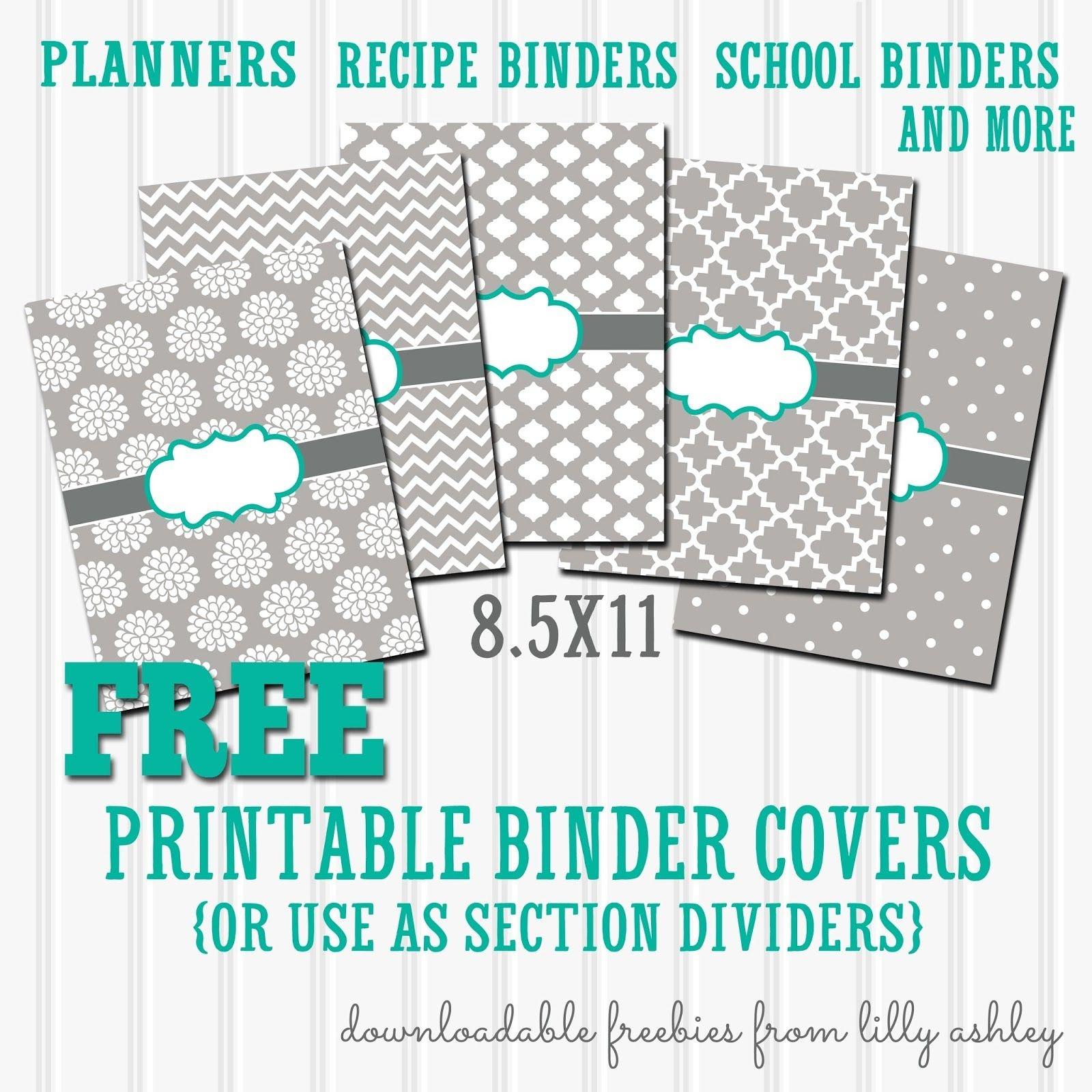 Free Binder Covers Printable Set   Preschool   Teacher Binder Covers - Free Printable Binder Covers And Spines