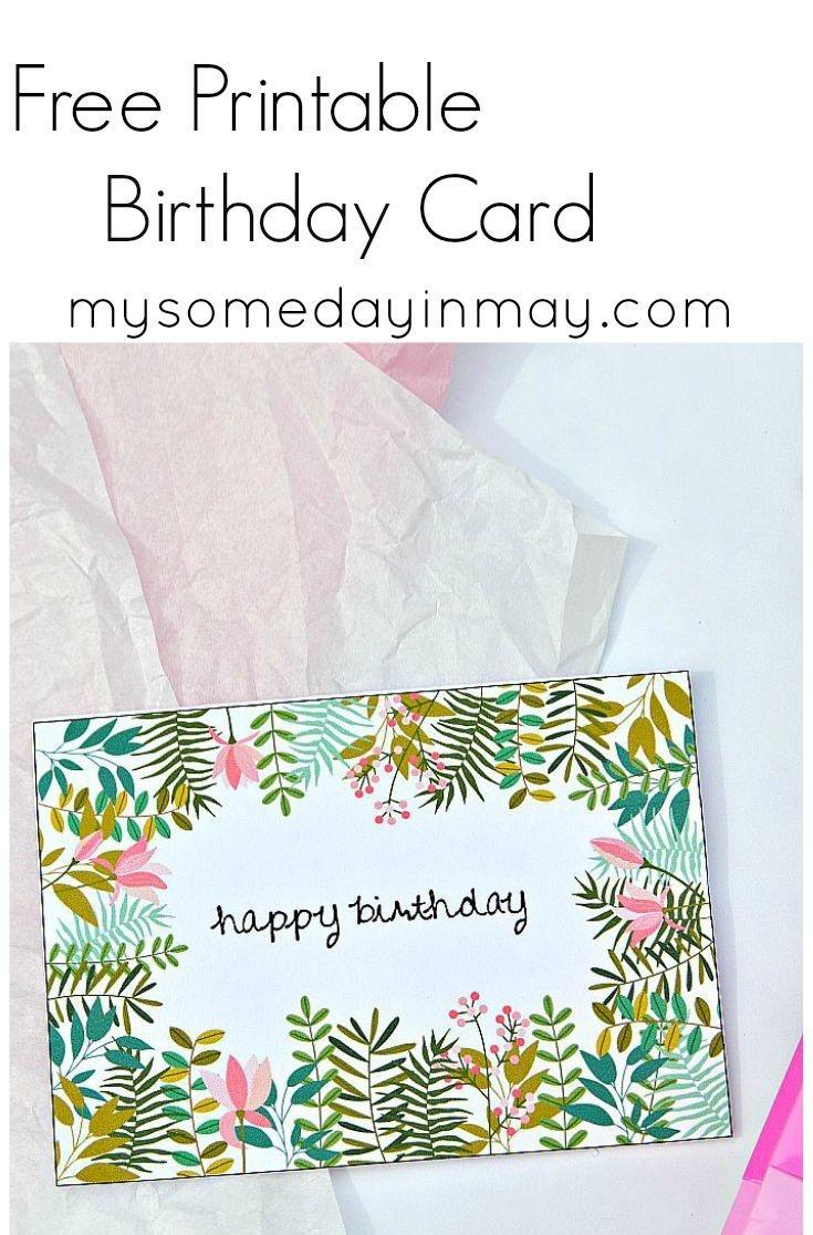 Free Birthday Card | Birthday Ideas | Free Printable Birthday Cards - Free Printable Birthday Cards For Mom