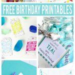 Free Birthday Printables   Eighteen25   Free Printable Birthday Tags