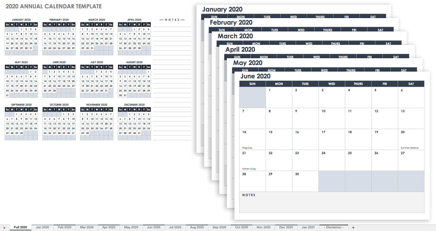 Free Blank Calendar Templates - Smartsheet - Free Printable Out Of Service Sign