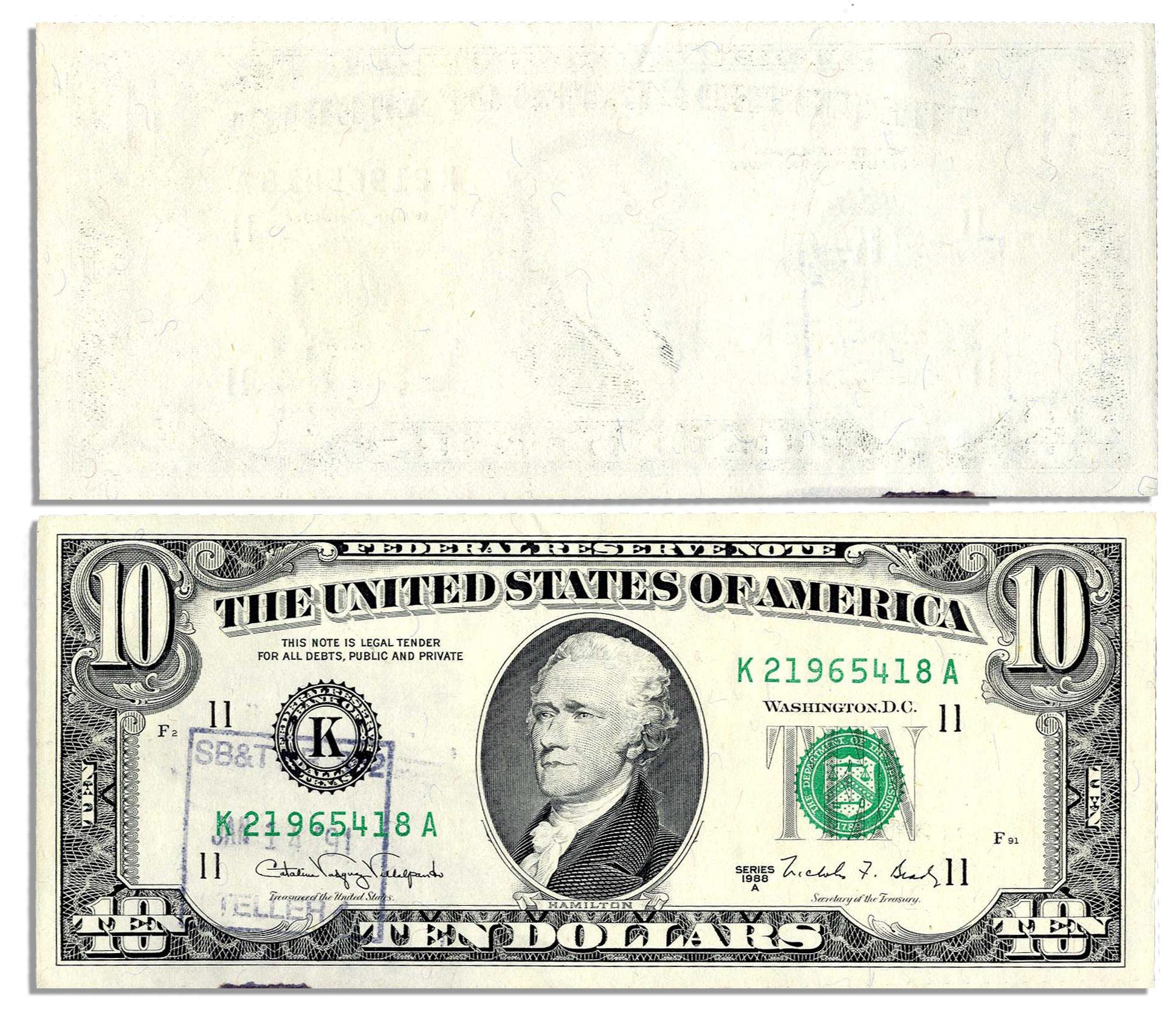 Free Blank Dollar Bill, Download Free Clip Art, Free Clip Art On - Free Printable Million Dollar Bill