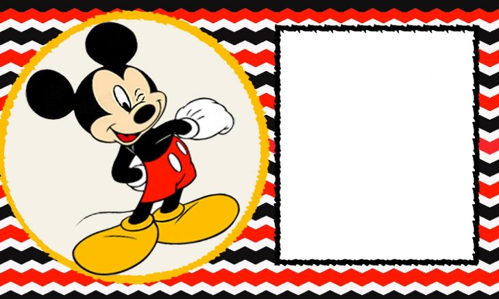 Free Mickey Mouse Printable Templates