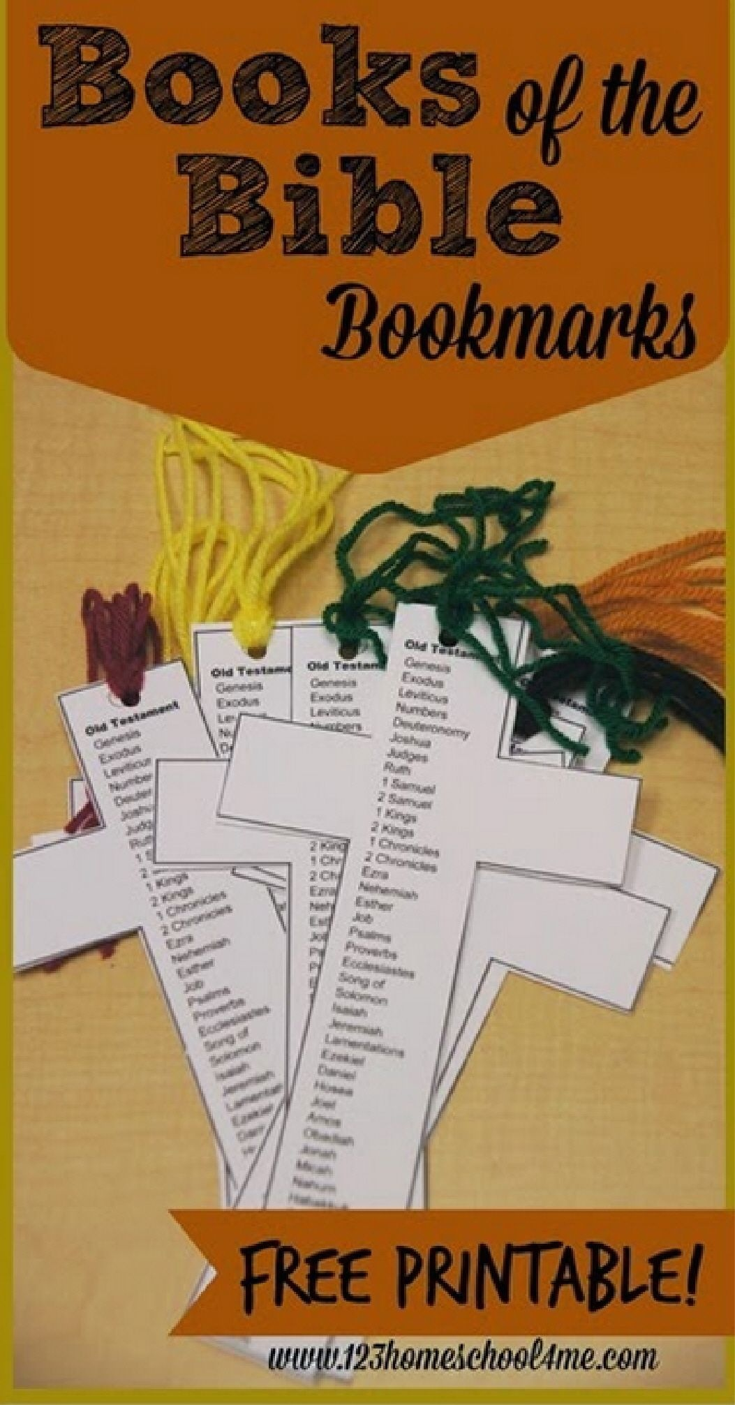 Free Books Of The Bible Bookmark | Sunday School Ideas | Bible - Books Of The Bible Bookmark Printable Free