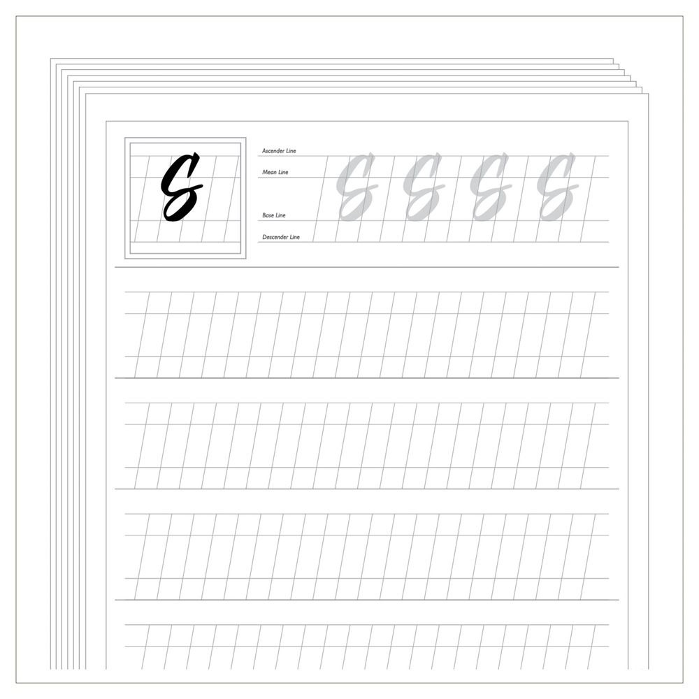 Free Calligraphy Worksheets Printable - Google Zoeken | Projects To - Free Printable Calligraphy Worksheets