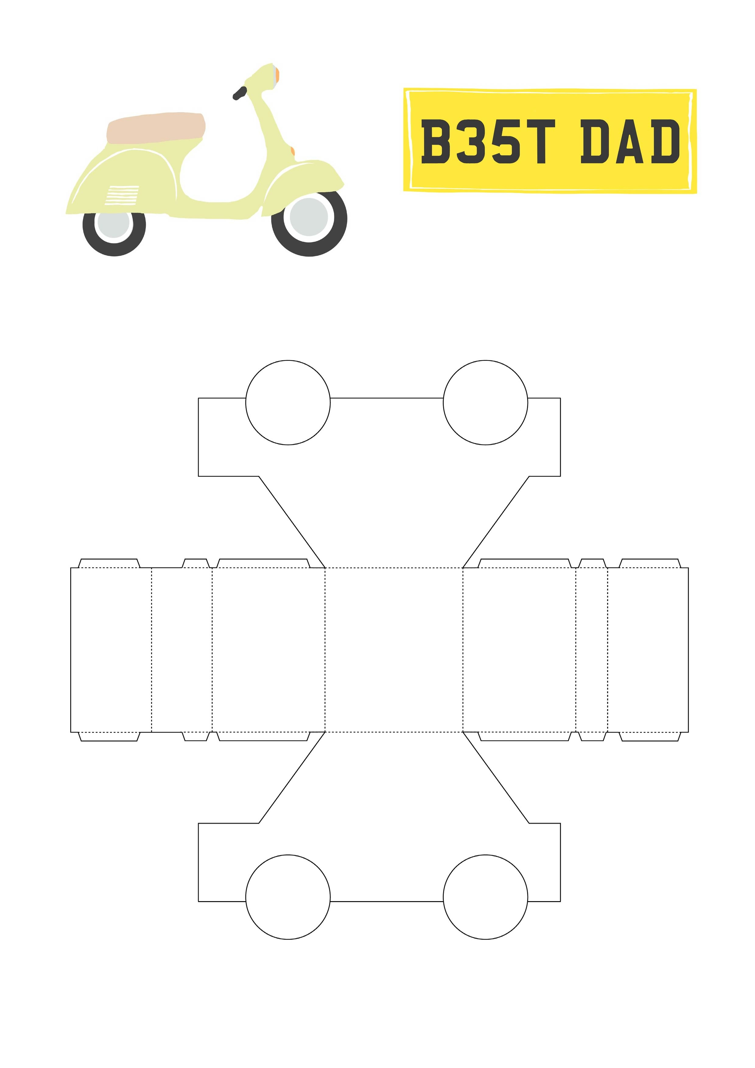 Free Car Printable Collection From Papercraft Inspirations 178 - Free Printable Car Template