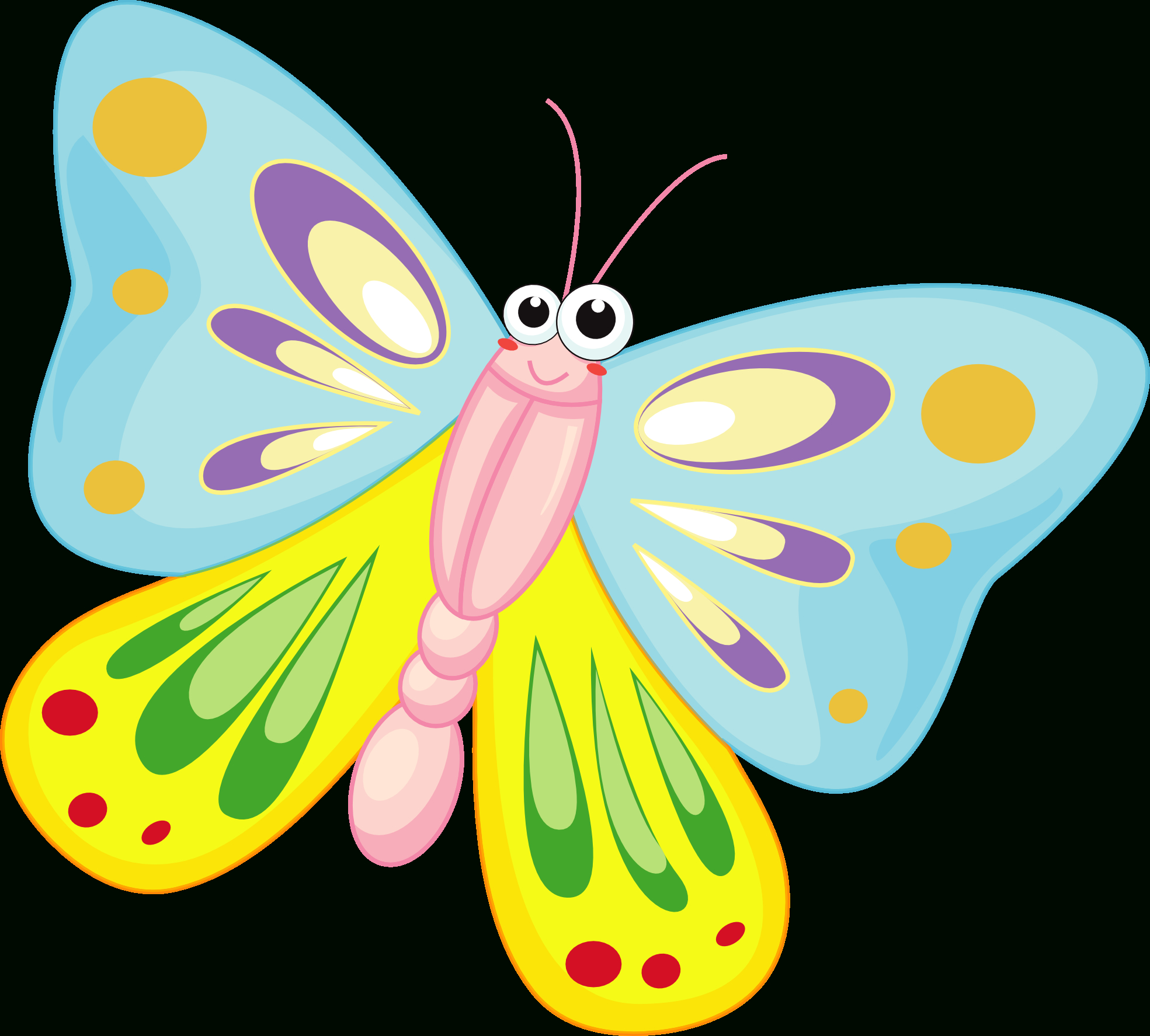 Free Cartoon Butterfly Pictures, Download Free Clip Art, Free Clip - Free Printable Butterfly Clipart