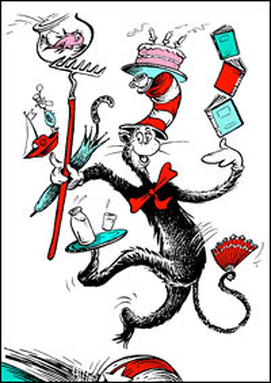 Free Cat In The Hat Clip Art Pictures - Clipartix - Free Printable Cat In The Hat Clip Art