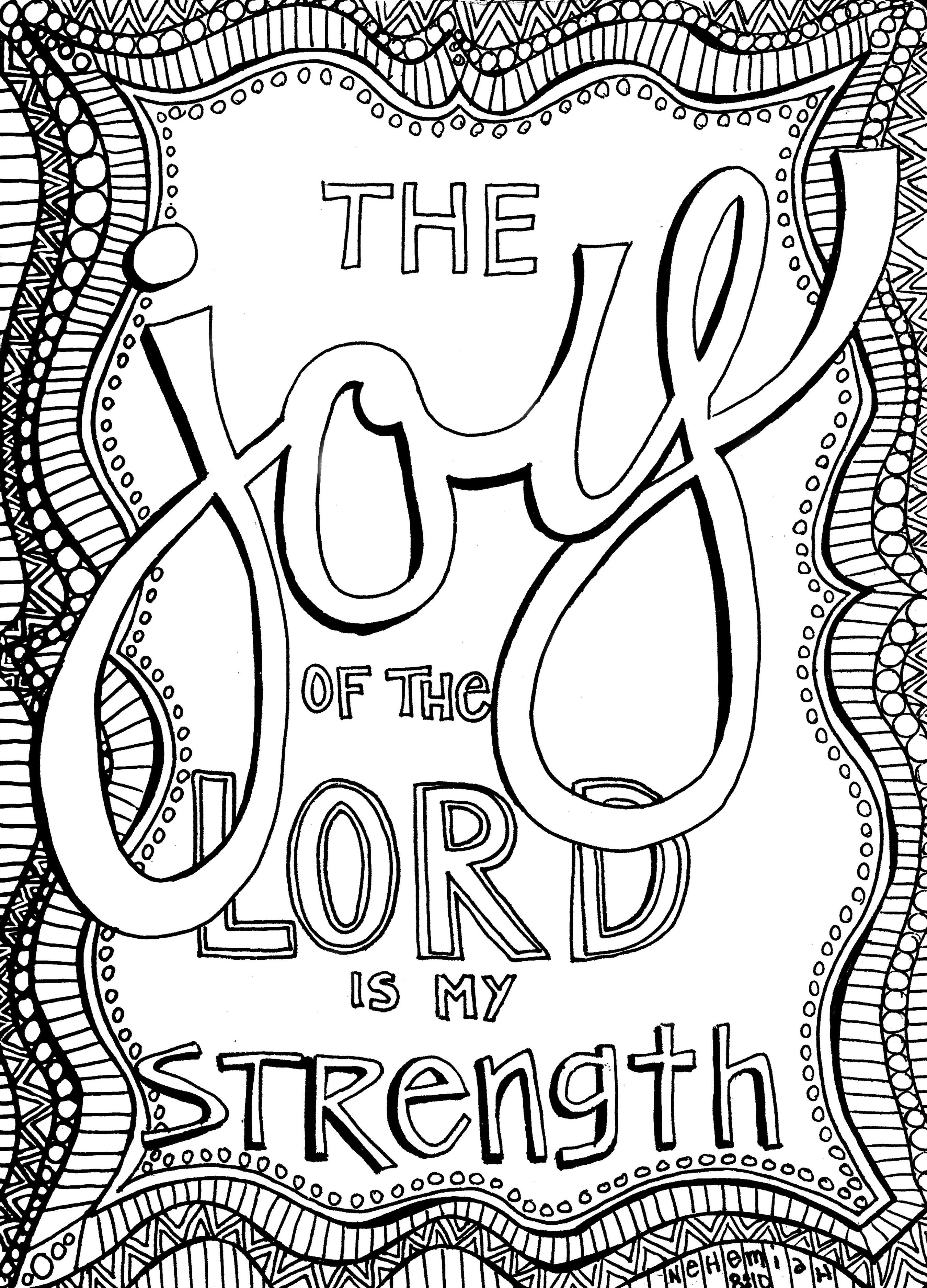 Free Christian Coloring Pages For Adults - Roundup | Bible - Free Printable Christian Art
