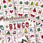 Free Christmas Bingo Game Printable   Free Christmas Bingo Game Printable
