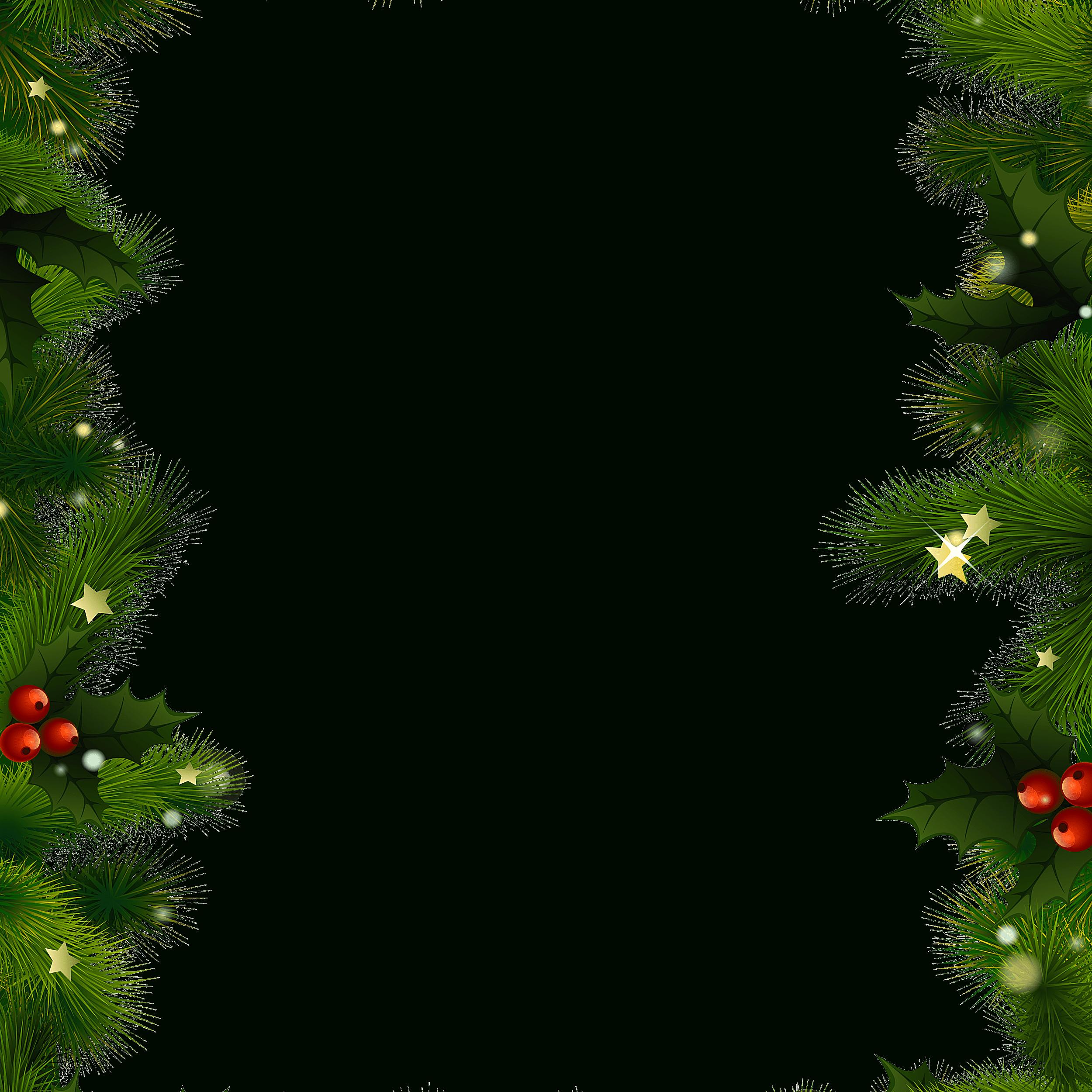 Free Christmas Borders And Frames - Free Printable Page Borders Christmas