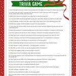 Free Christmas Trivia Game   Lil' Luna   Free Printable Christmas Riddle Games