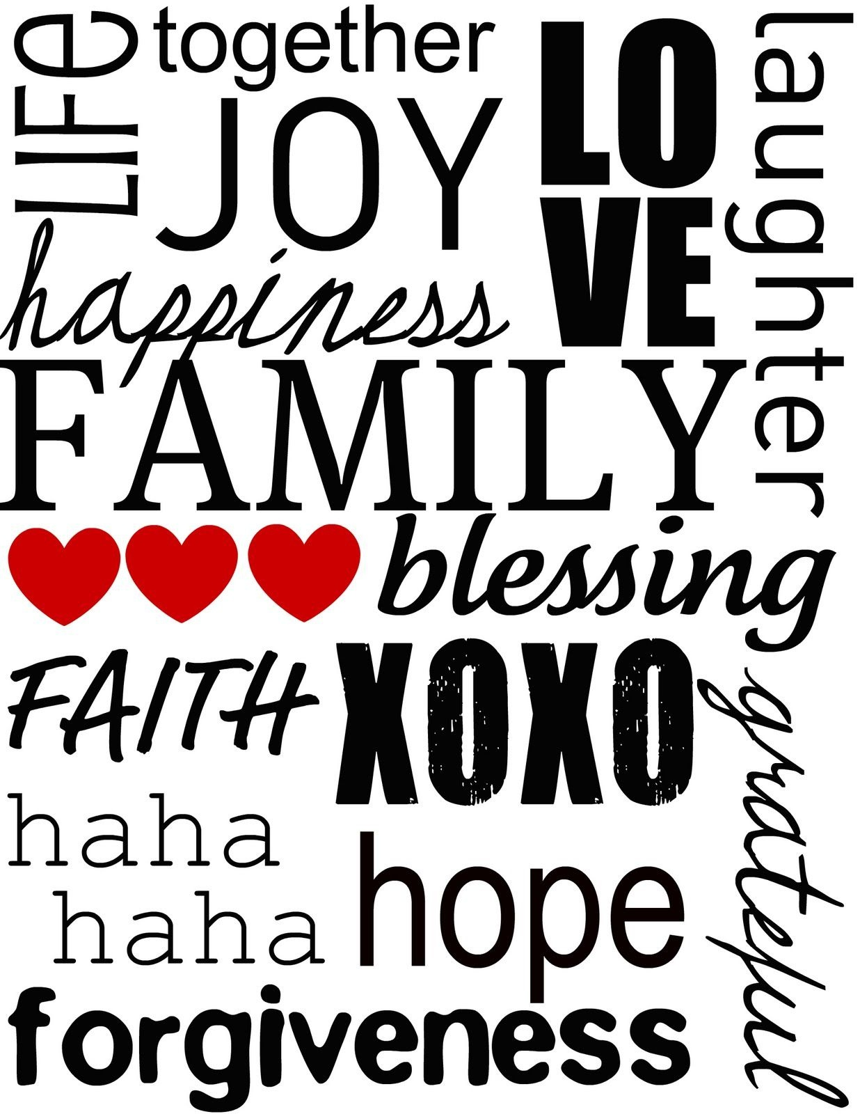 Free Clipart   Adorn Your Walls With This Lovely Family Word Subway - Free Printable Subway Art Template