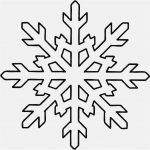 Free Collection 50 Snowflakes Template New | Free Professional   Snowflake Template Free Printable