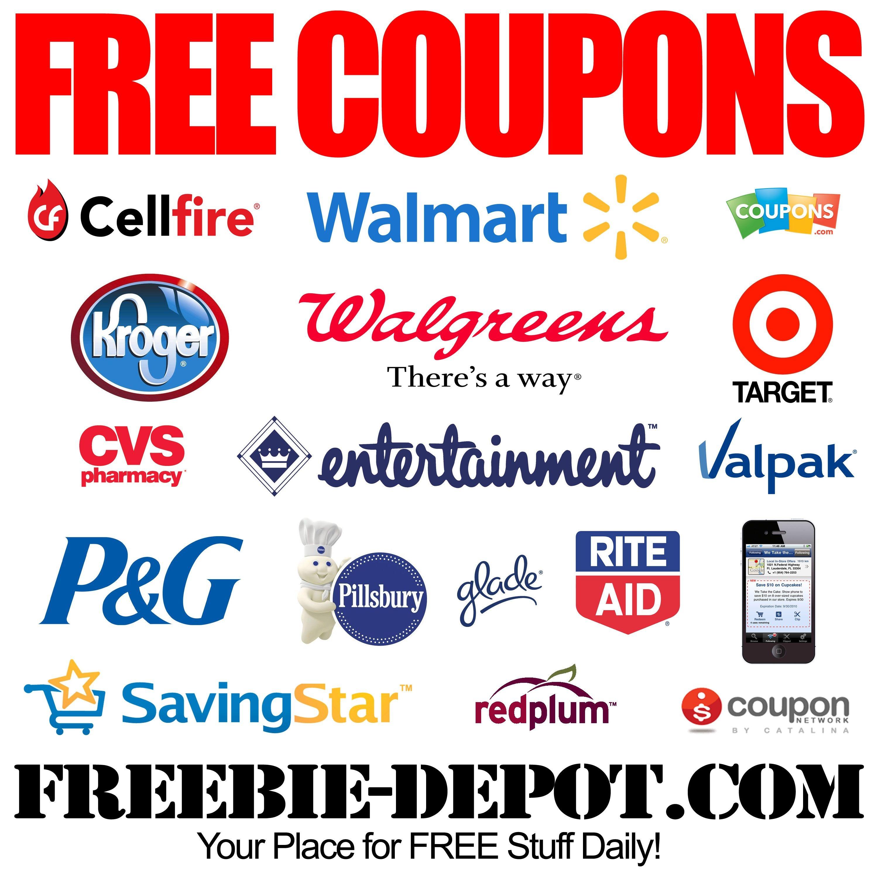 Free Coupons - Free Printable Coupons - Free Grocery Coupons - Free Printable Grocery Coupons