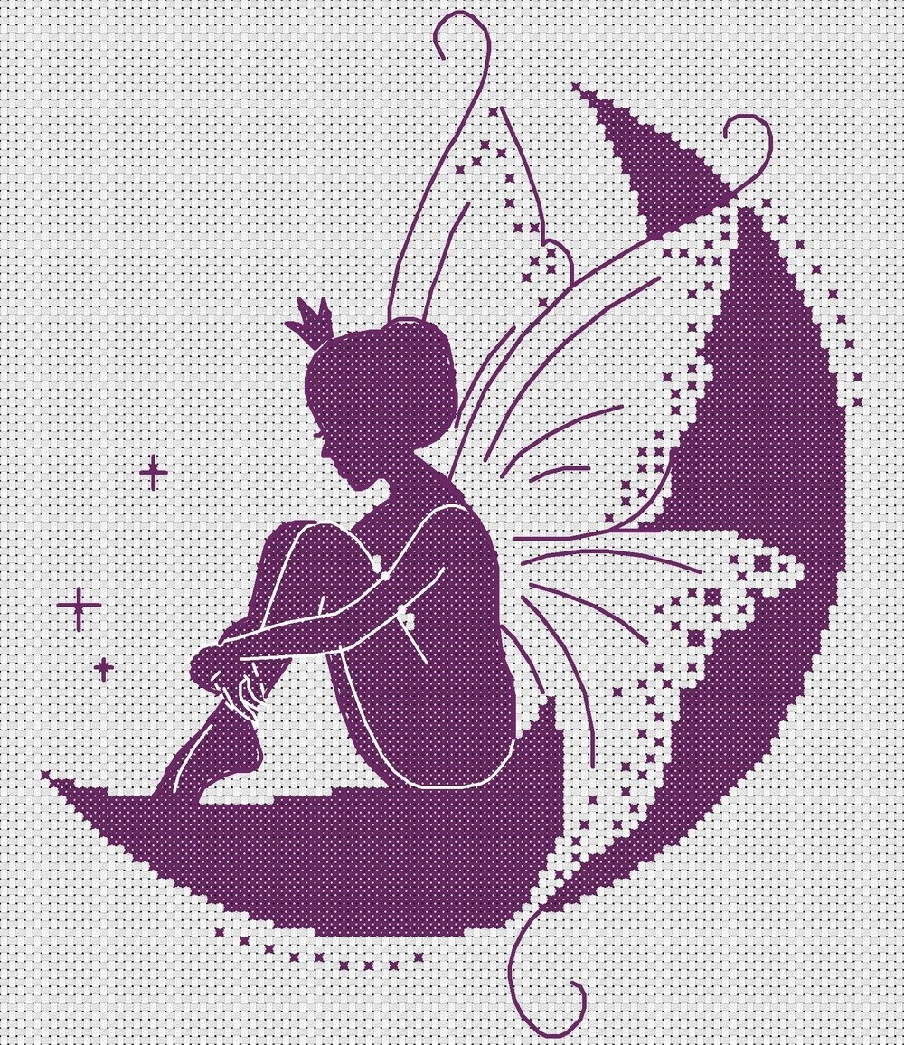 Free Cross-Stitch Patterns — Dmc Philippines - Free Printable Cross Stitch Patterns Angels