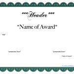 Free Customizable Award Certificates   Demir.iso Consulting.co   Free Printable Soccer Certificate Templates