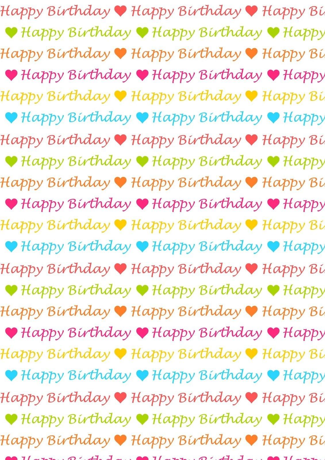 Free Digital Birthday Scrapbooking Paper - Ausdruckbares - Free Online Digital Scrapbooking Printable
