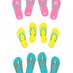 Free Digital Flip Flops Scrapbooking Paper   Ausdruckbares   Free Printable Flip Flop Pattern