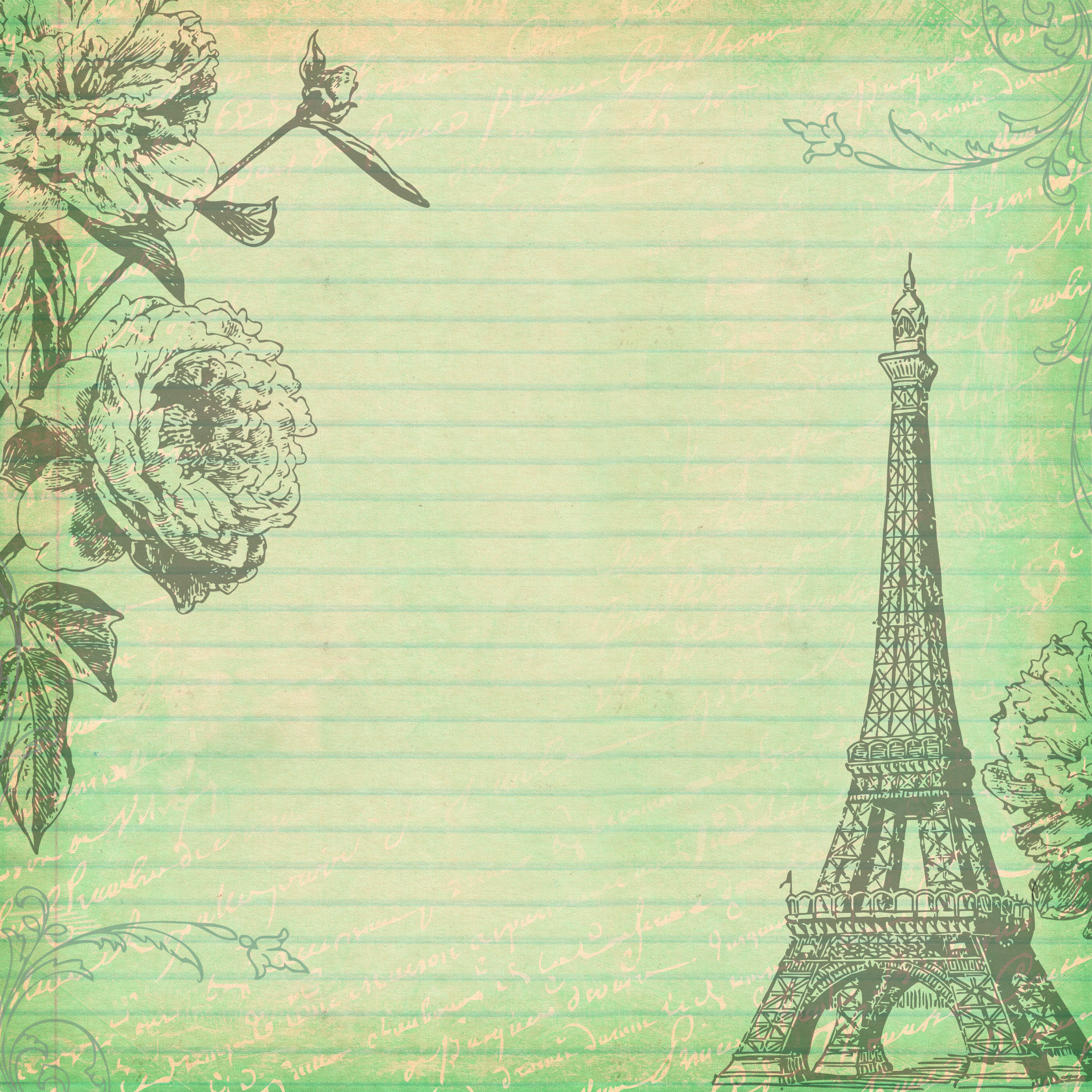 Free Digital Scrapbooking Paper Paris 3Fptfy - Free Pretty - Free Printable Backgrounds For Paper