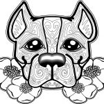 Free Dog Coloring Pages For Adults | Free Printable Coloring Pages   Free Printable Dog Coloring Pages