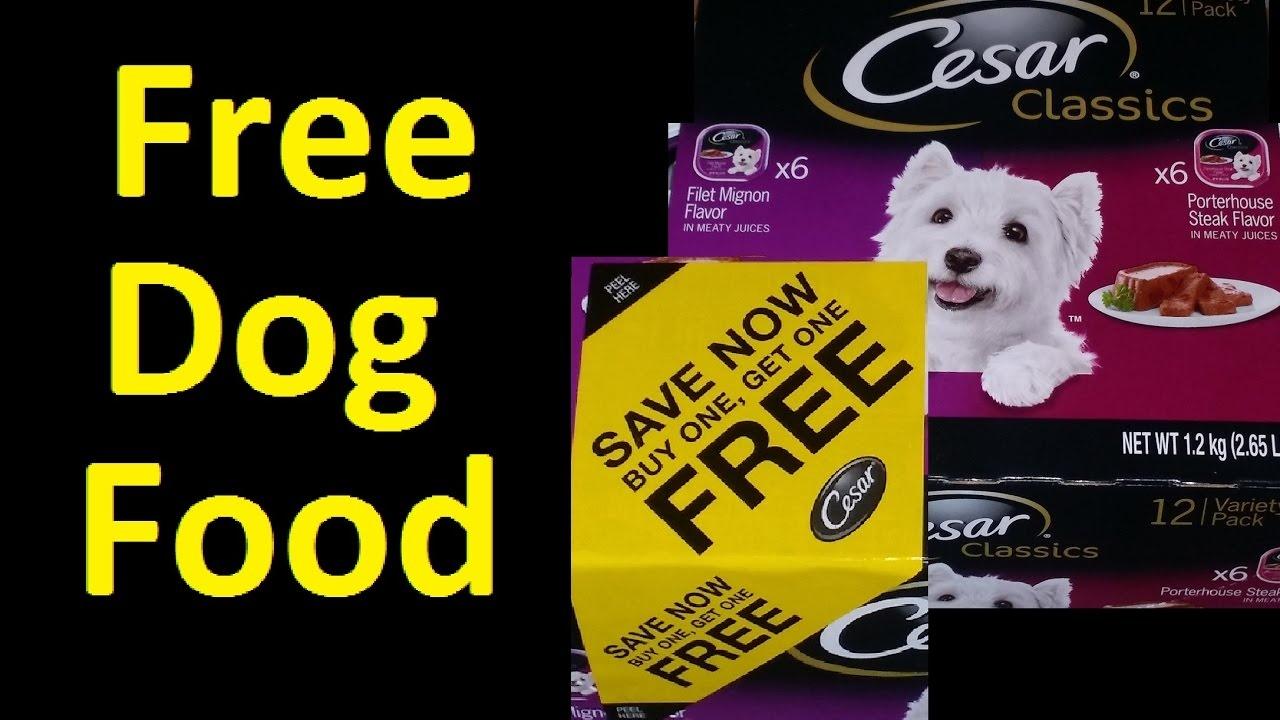 Free Dog Food Cesar Dog Food Coupon Voucher ~ I Got Over $2500 - Free Printable Dog Food Coupons