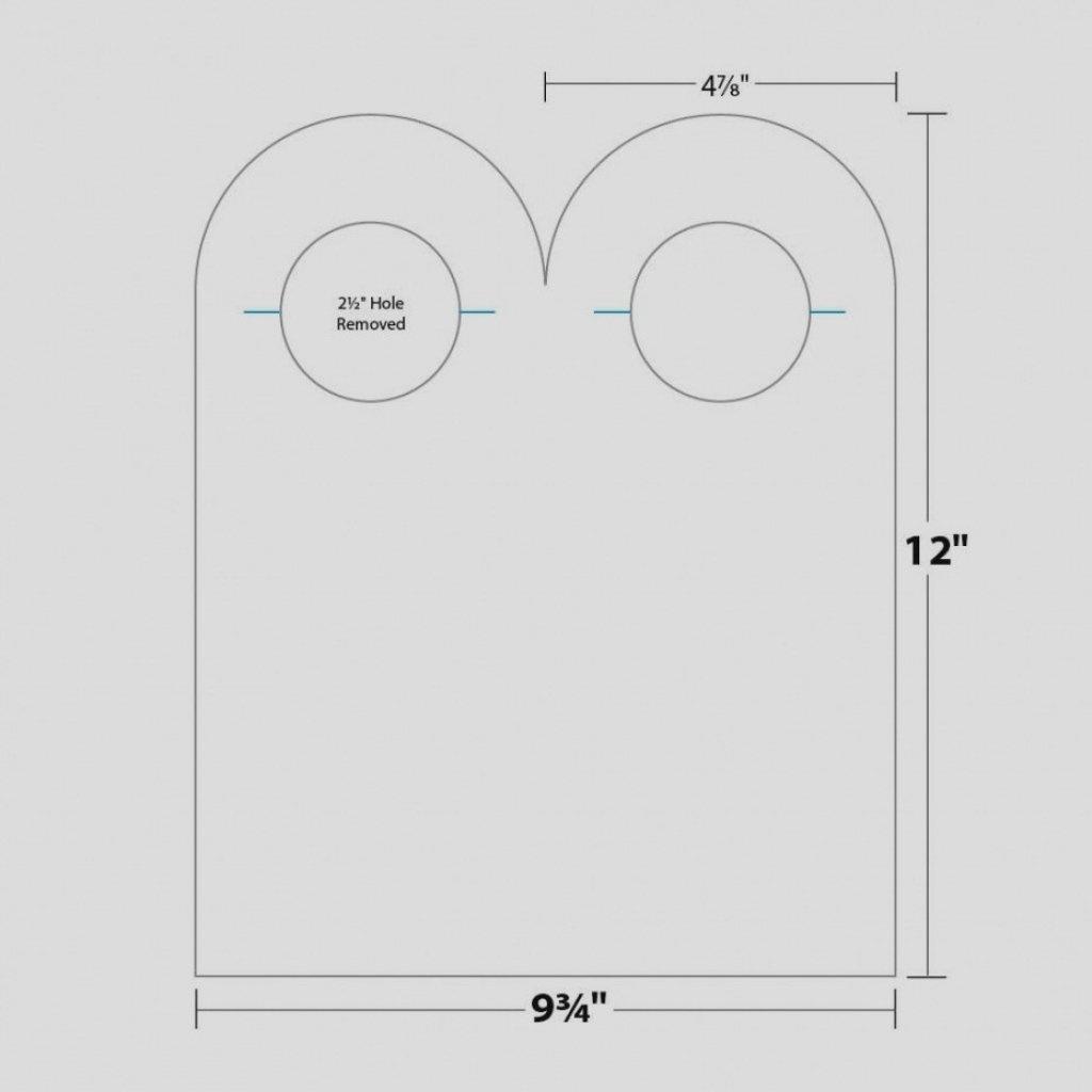 Free Door Hanger Template Word   Lividrecords - Free Printable Door Hanger Template