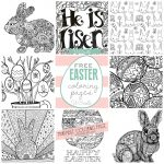 Free Easter Coloring Pages   U Create   Free Easter Color Pages Printable