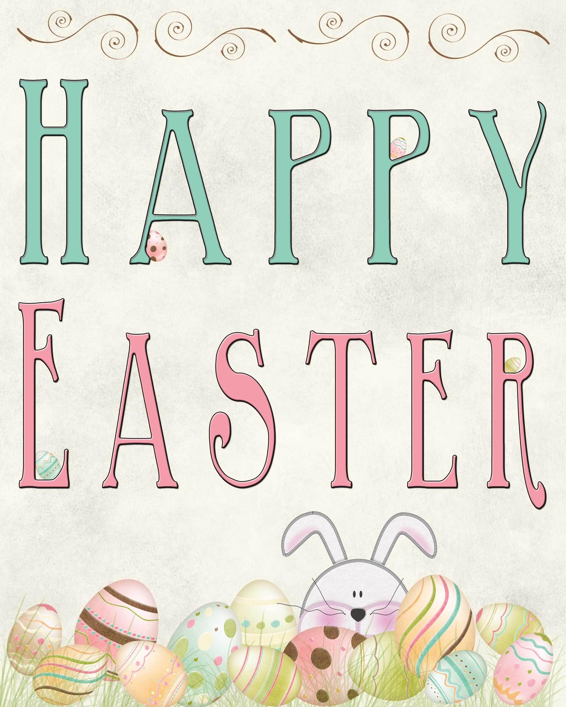 Free Easter Printable | Free Printables | Easter Printables, Easter - Printable Easter Greeting Cards Free