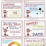 Free Elf On The Shelf Notes. | Holiday: Elf On The Shelf Ideas | Elf   Free Printable Elf On The Shelf Notes