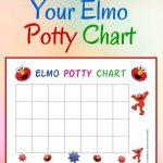 Free Elmo Potty Training Chart   Family   Potty Training Reward   Free Printable Potty Training Charts