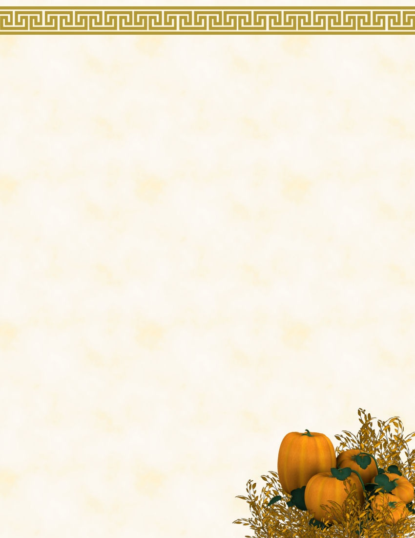Free Fall Stationery Template - Tutlin.psstech.co - Free Printable Autumn Paper