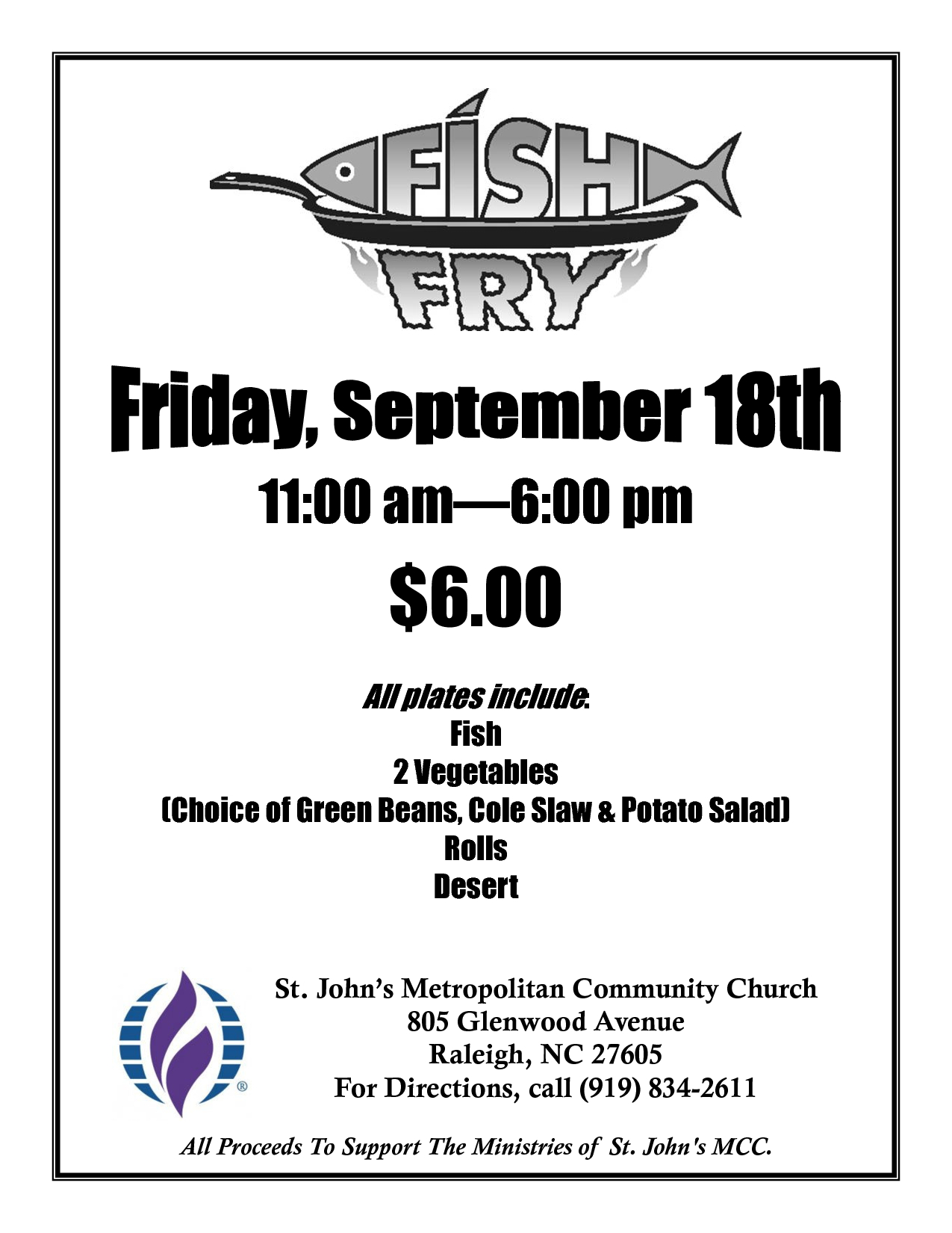 Free Fish-Fry Flyer Templates | Fish Fry Poster | Fish Fry | Fried - Free Printable Fundraiser Flyer Templates