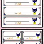 Free! Free! Free! Pete The Cat Name Tags. Your Kiddos Will Love   Free Printable Name Tags For Preschoolers