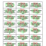 Free Gift Exchange Game Printable | Holiday Games | Christmas Gift   Free Holiday Games Printable