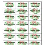 Free Gift Exchange Game Printable | Party Ideas | Christmas Games   Free Holiday Games Printable