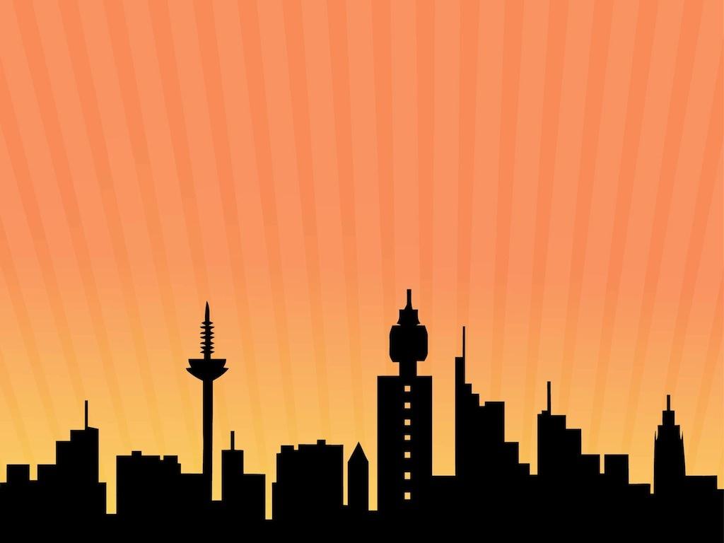 Free Gotham Cliparts, Download Free Clip Art, Free Clip Art On - Free Printable Superhero Skyline