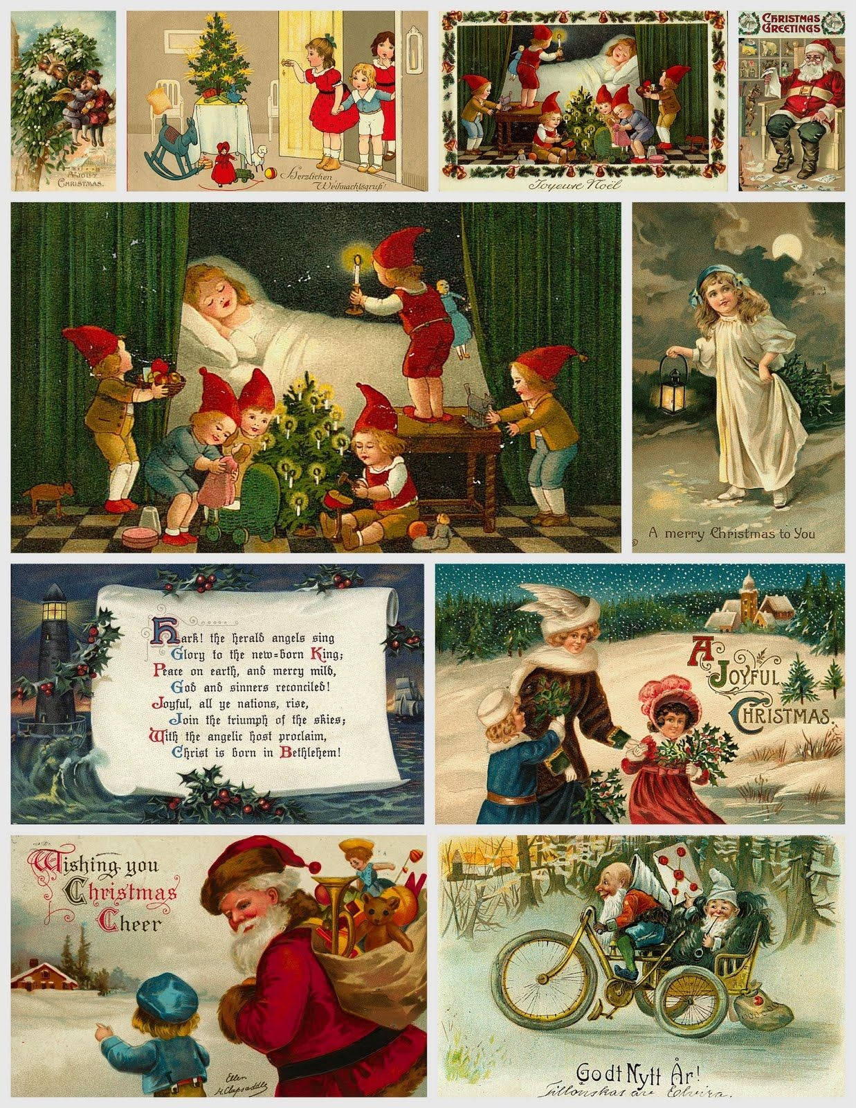 Free Images: Christmas Collages For You! | *+* Free Holiday - Free Printable Christmas Photo Collage