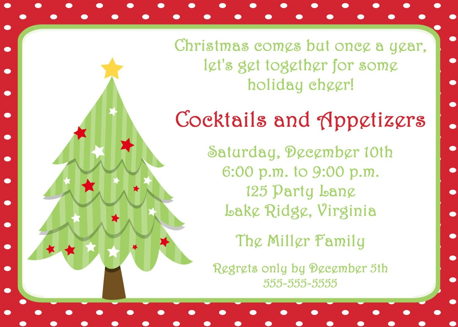 Free Invitations Templates Free | Free Christmas Invitation - Christmas Party Invitation Templates Free Printable