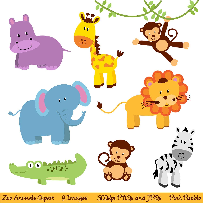 Free Jungle Animals, Download Free Clip Art, Free Clip Art On - Free Printable Baby Jungle Animal Clipart