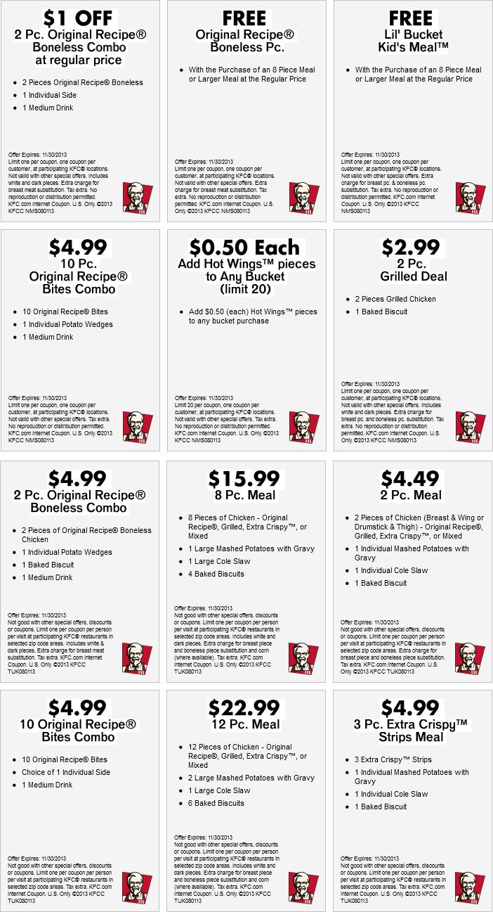 Free-Kfc-Coupons-Codes-July-5 - Free Printable Coupons 2017