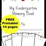 Free Kindergarten Memory Book (Homeschool Edition | Best Of Mrs   Free Printable Books For Kindergarten