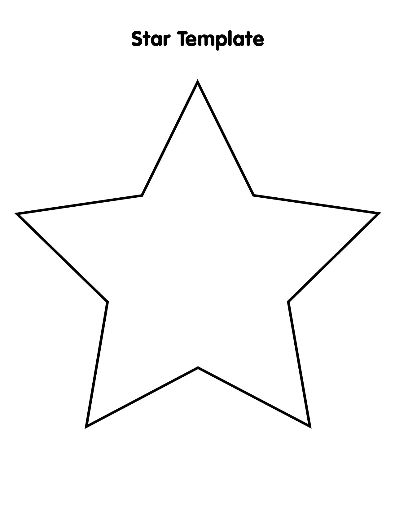 Free Large Star Template To Print, Download Free Clip Art, Free Clip - Free Printable Stars