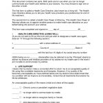 Free Living Will Forms (Advance Directive)   Medical Poa   Pdf   Free Printable Living Will Forms Washington State