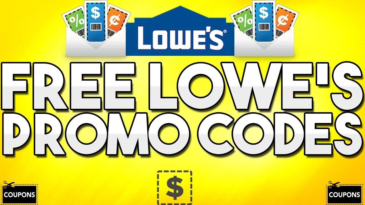 Free Lowe's Promo Codes! (Generator) - Youtube - Lowes Coupon Printable Free