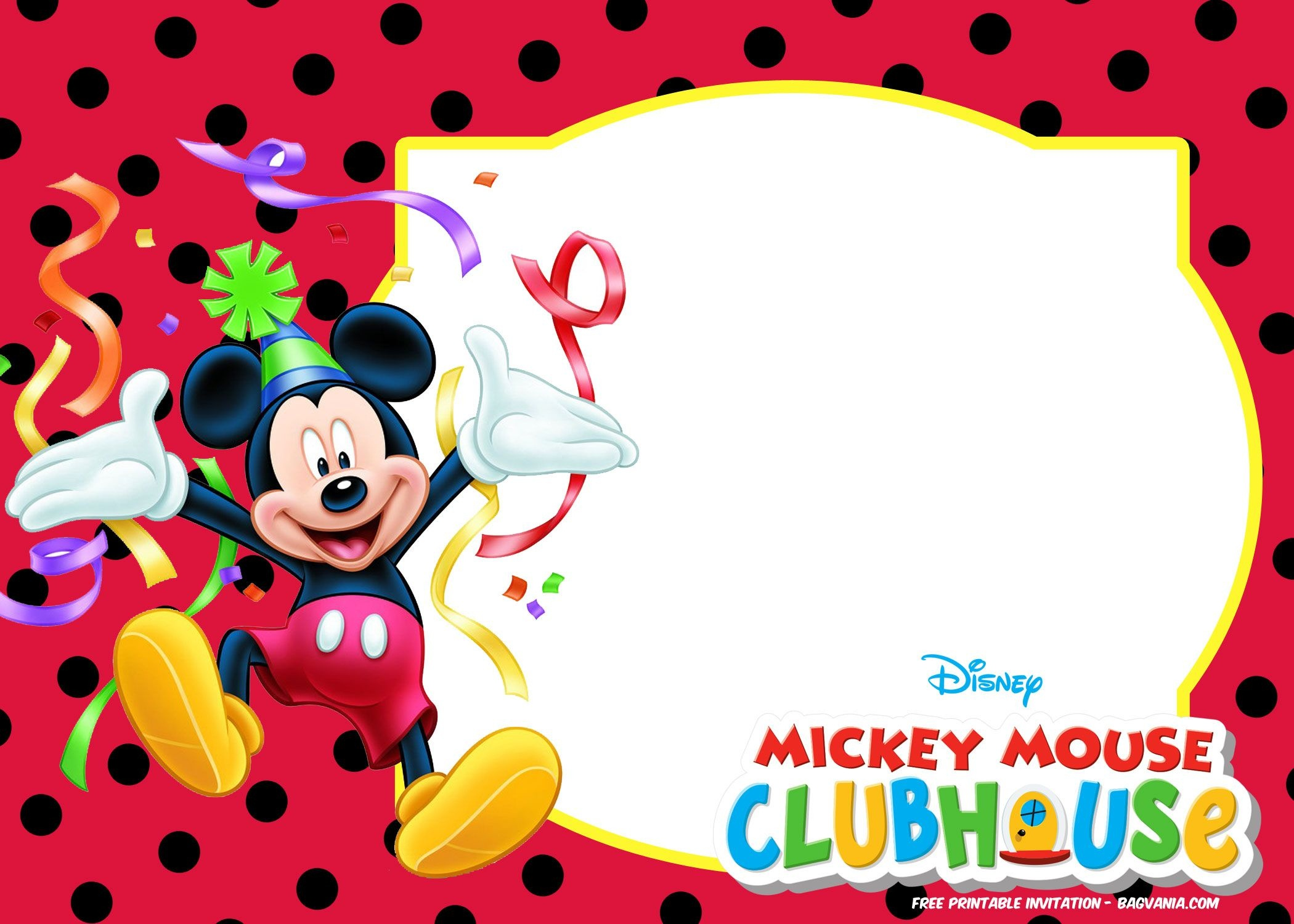 Free Mickey Mouse Summer Birthday | Free Printable Birthday - Free Printable Mickey Mouse Birthday Invitations
